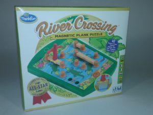 Ravensburger 76349 ThinkFun Upes šķērsošana – prāta spēle
