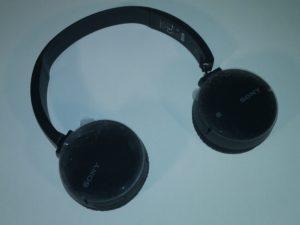DEFEKTS – Sony WH-CH500 Bluetooth bezvadu austiņas melnas