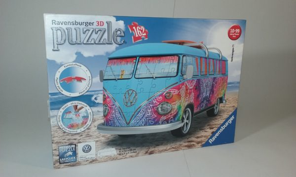 Ravensburger 12527 – 3D puzle Volkswagen T1 Indian Summer