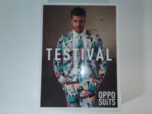 OppoSuits Testival karnevāla uzvalks vīriešiem EU50