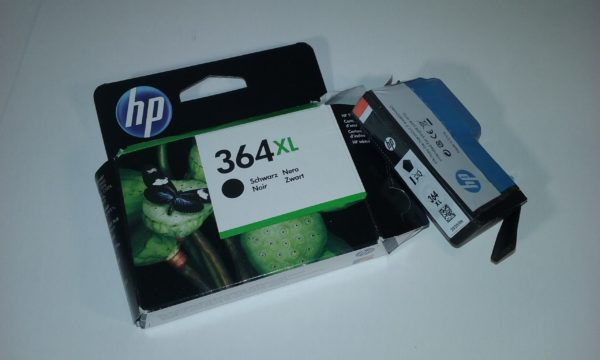 HP 364XL oriģinālā melnā tintez priekš HP Photosmart, HP Officejet, HP Deskjet