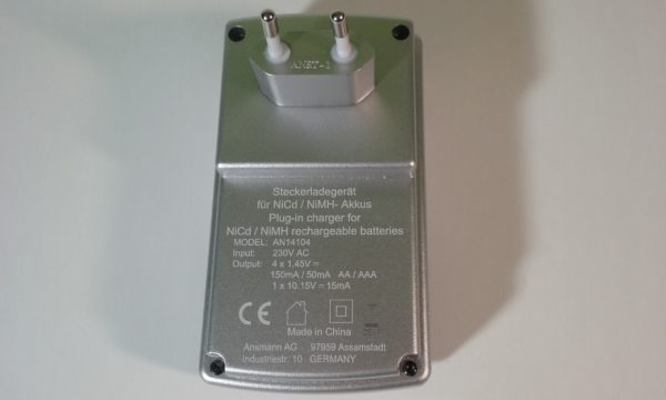 """Ansmann akumulatoru lādētājs Basic Plus 4 – AAA, AA, 9V """"kronas"""""""
