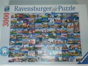 Ravensburger 99 skaistākās Eiropas vietas puzzle