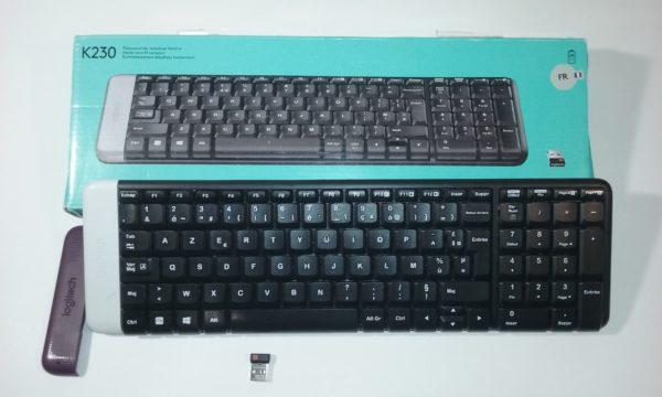 Logitech bezvadu klaviatūra K230 FR